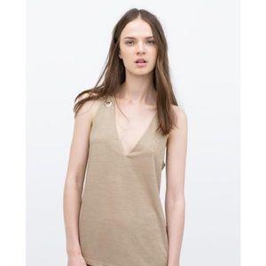 Zara WB Collection Knit Tank Top